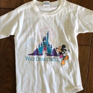 Vintage 1980's Walt Disney World T-Shirt - 10/12